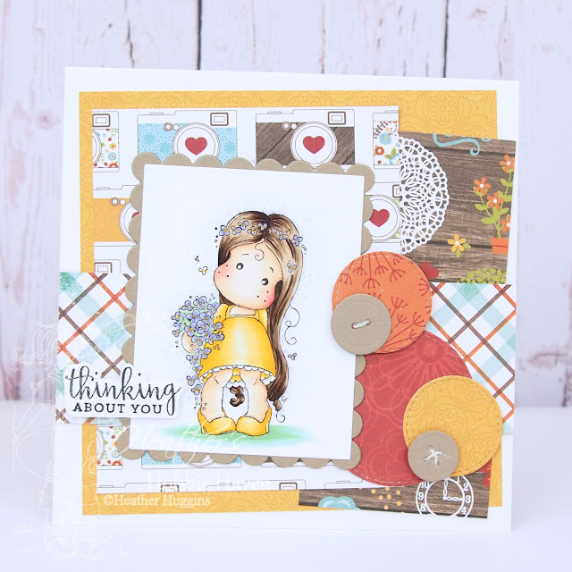 Heather's Hobbie Haven - Forget Me Not Tilda Card Kit