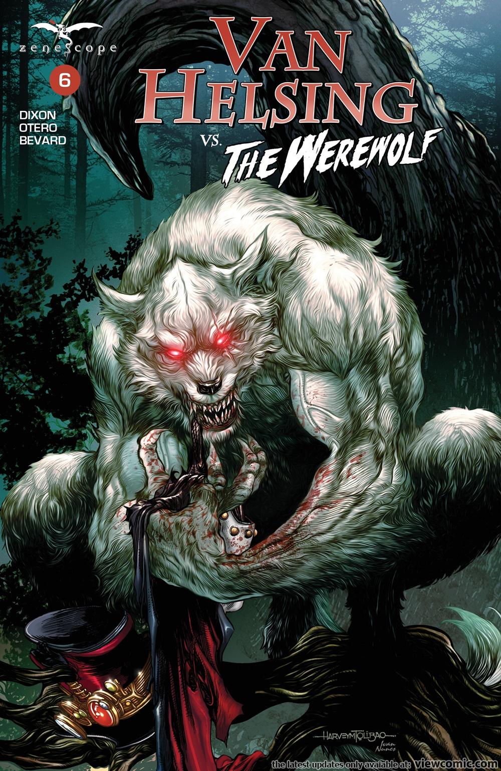 Van Helsing Vs. The Werewolf | Viewcomic reading comics ...