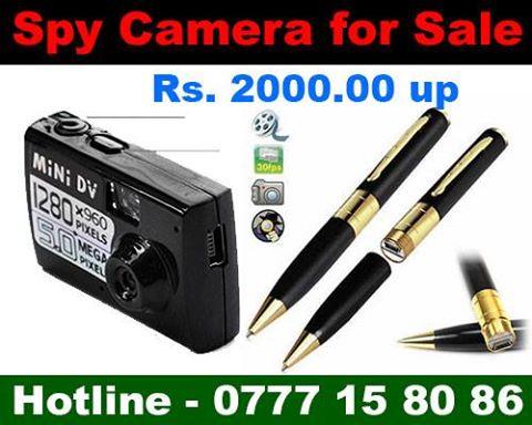 Sri Lanka Spy Camera Store  Buy Spy Camera in Sri Lanka: Sri