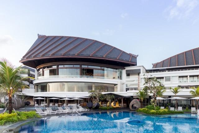 Main Building of Renaissance Hotel Bali