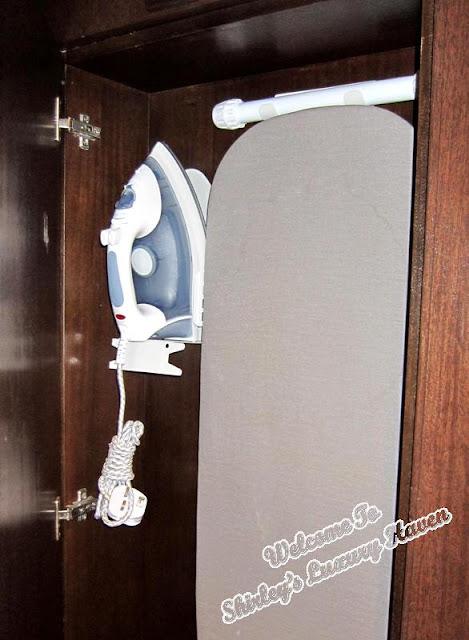 ironing board at casa del rio melaka