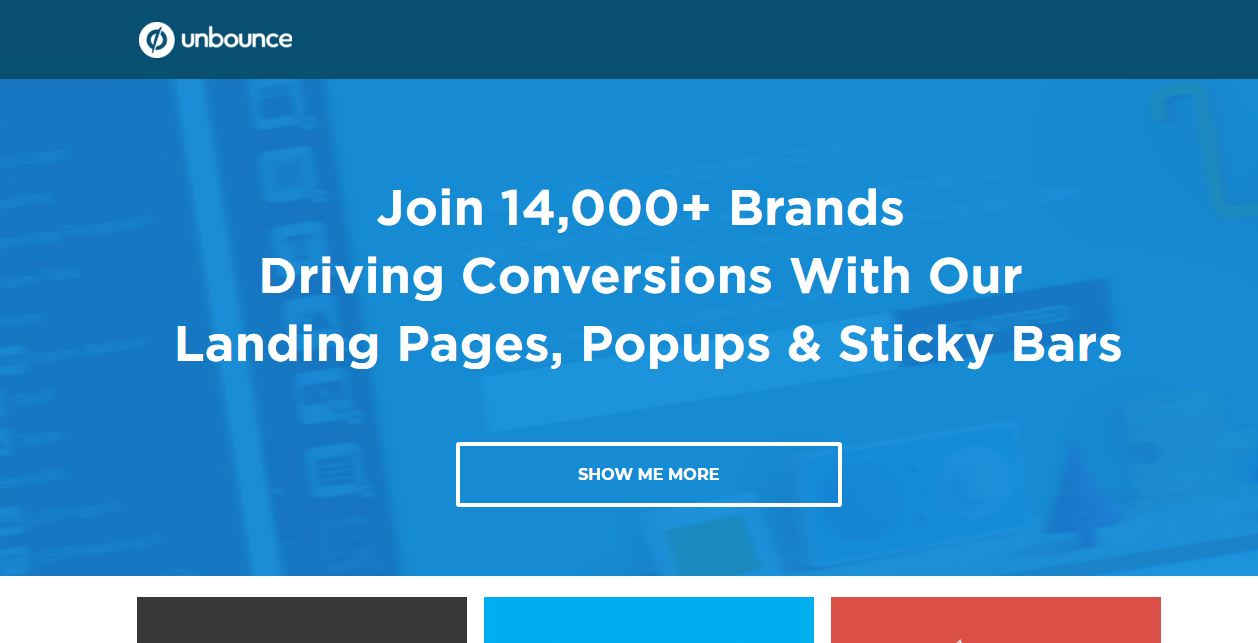 landing page builder, high converting landing pages creator