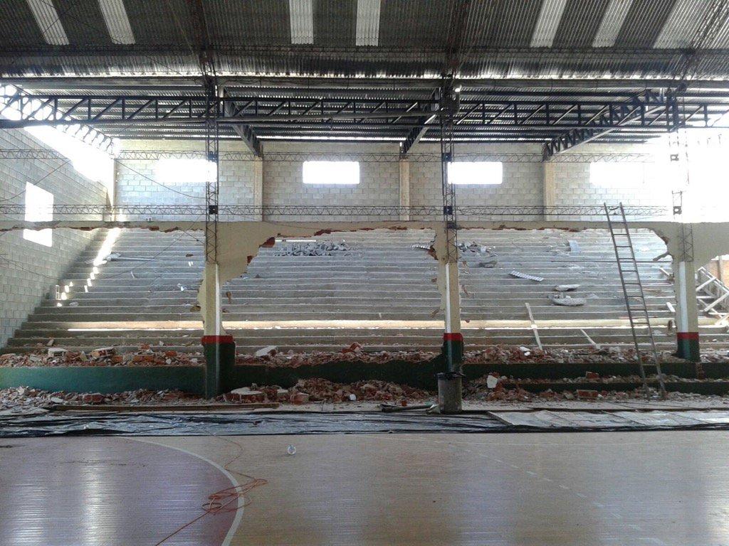 Vilo handball - nueva tribuna