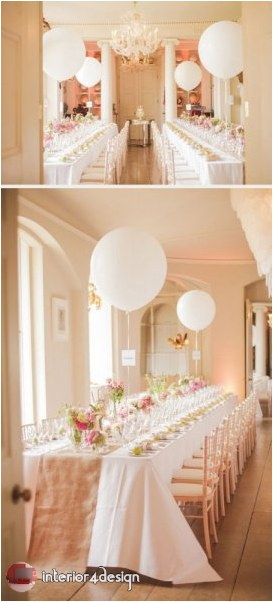 Wedding Decorations With Balloons And Flowers 24