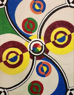 Ateliers LT 37 cours dessin et peinture - Anthony B - Composition La Tours Effel jongle - acrylique sur toile       tours          st pierre des corps                   montlouis sur loire                         la ville aux dames               vouvray          la riche         loches                veigné