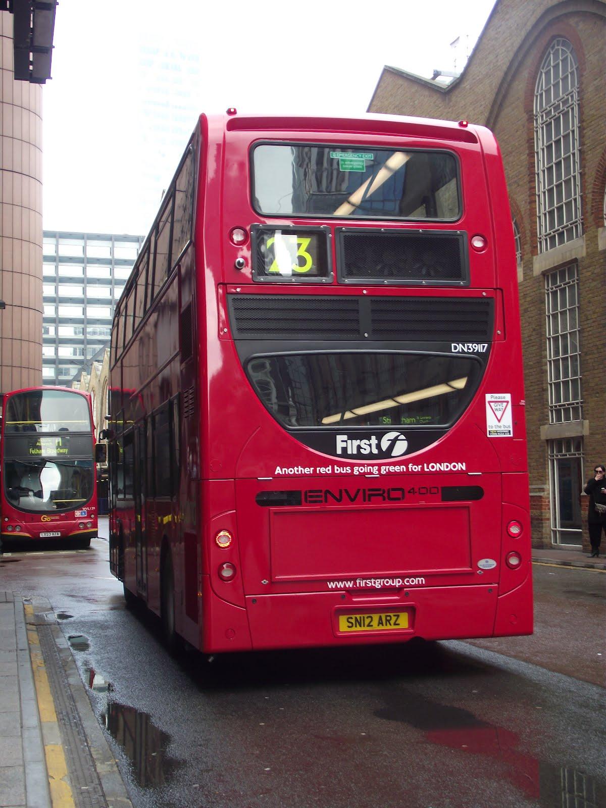 Tom London Amp Surrey Bus Blog Route 23 Observations Part