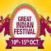 Amazon Big Festival Sale | Amazon Announces Great Indian Festival sale from October 10