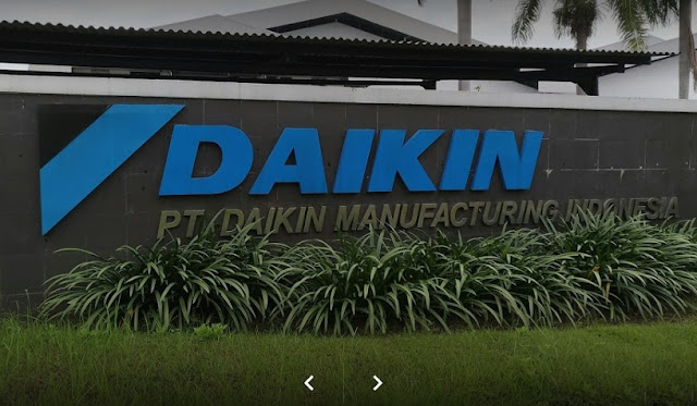 PT Daikin Manufacturing Indonesia Buka Lowongan Kerja Bagian Staf Pembelian Barang Import