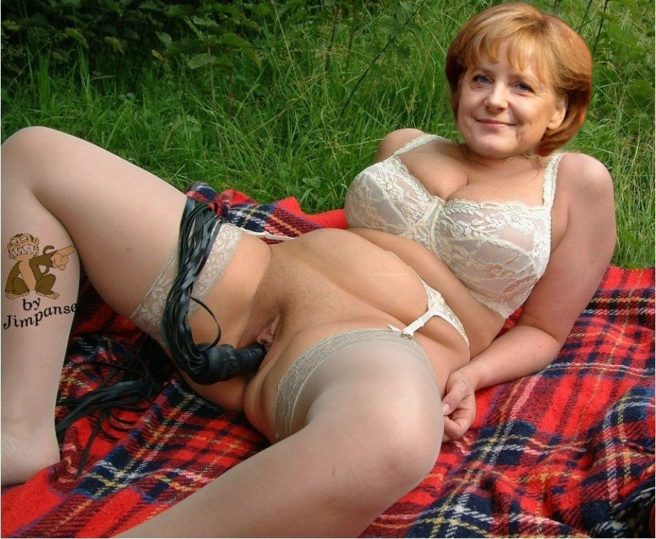 Angela merkel porno