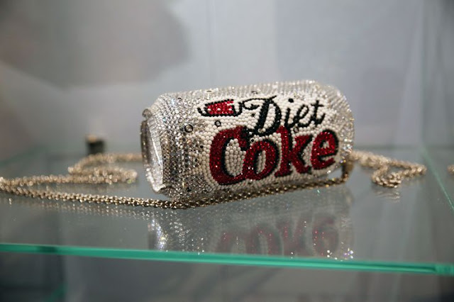 Mini-bolsa Diet Coke