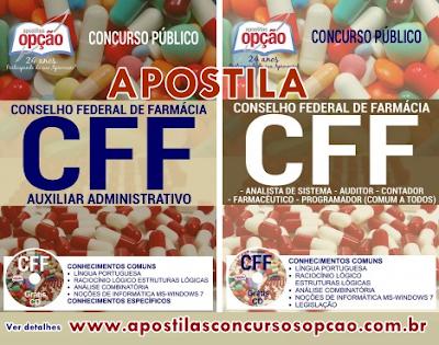 Apostila Concurso Conselho Federal de Farmácia (CFF)