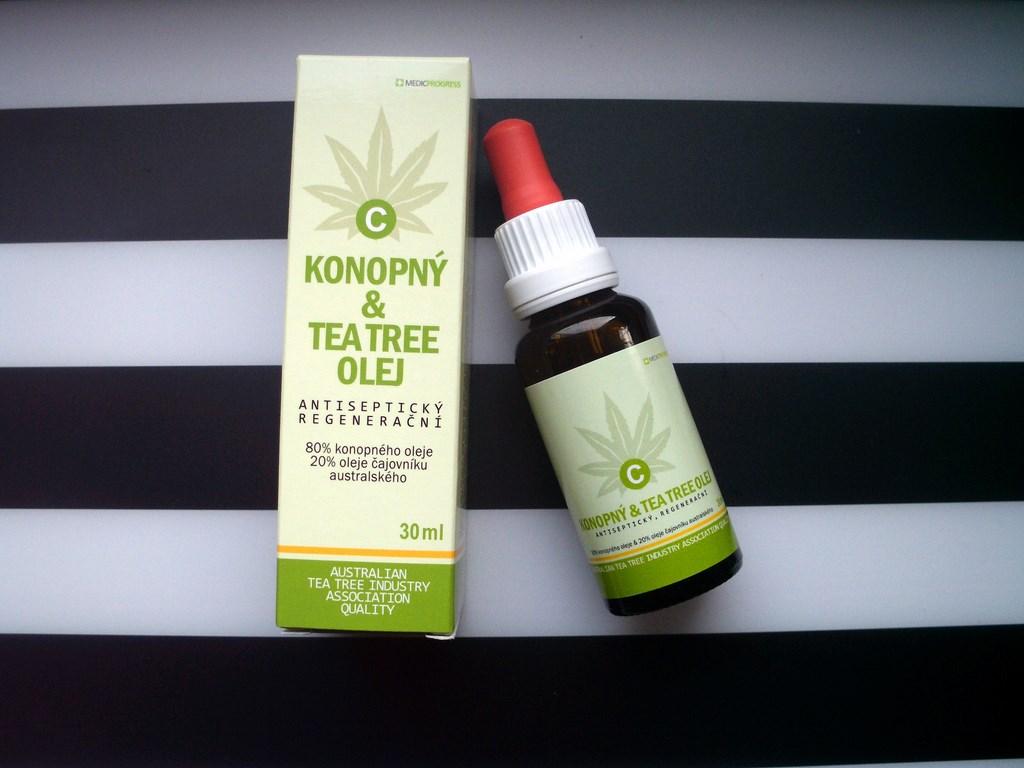 ECONOPIE Olejek z konopi i drzewa herbacianego