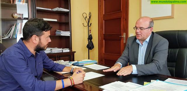 El Cabildo y el Ayuntamiento de Barlovento trabajan de forma conjunta en el impulso y mejora de las infraestructuras