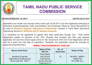 tnpsc-agricultural-engineering-assistant-engineer-recruitment-notification-exam-www-tngovernmentjobs-in