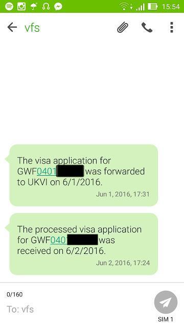 Uk visa processed means