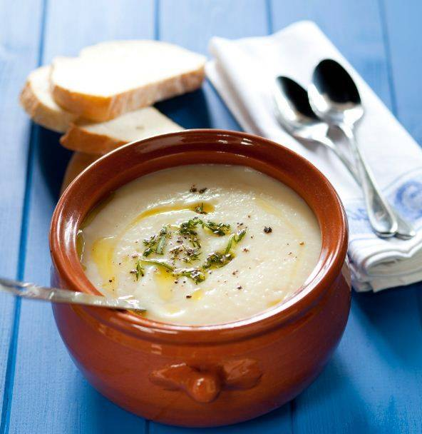 Creamy Chestnut And Parsnip Soup Recipe