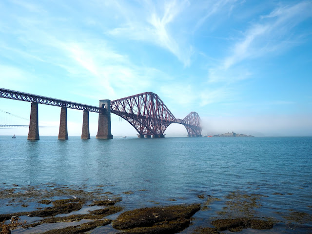 Forth Railway Bridge, South Queensferry near Edinburgh, Scotland
