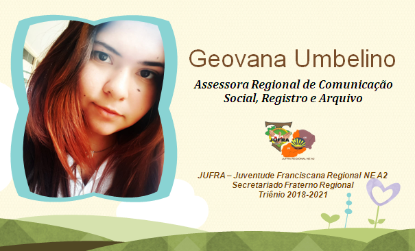 GEOVANA UMBELINO: ASSESSORA DE CSRA DO REGIONAL CE/PI
