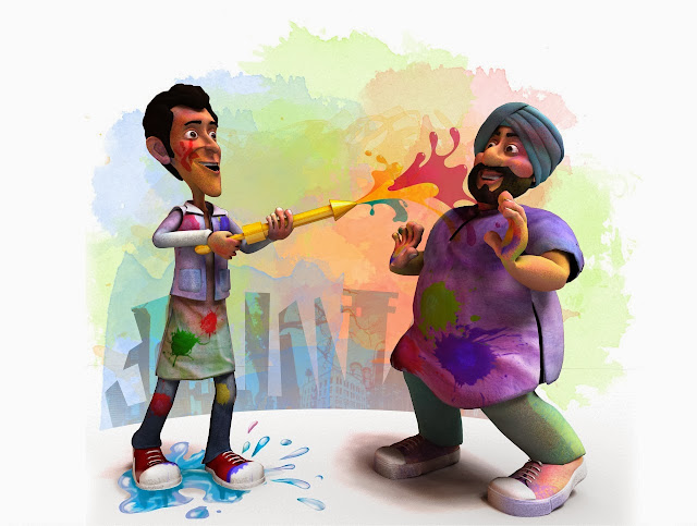 Funny Happy Holi Images