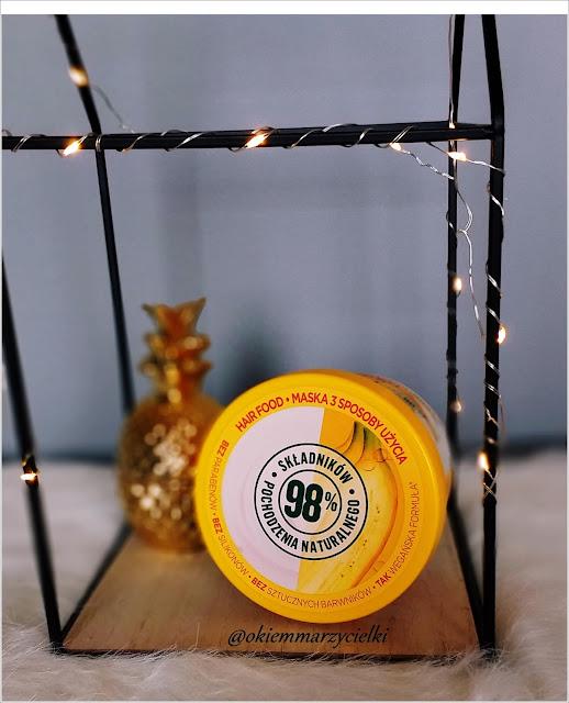 Odżywcza maska do włosów (BANANA HAIR FOOD), Garnier Fructis- recenzja #71