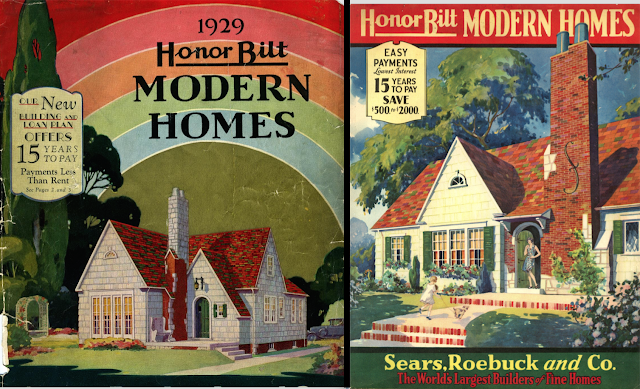 Sears Modern Homes catalog covers 1929 1930