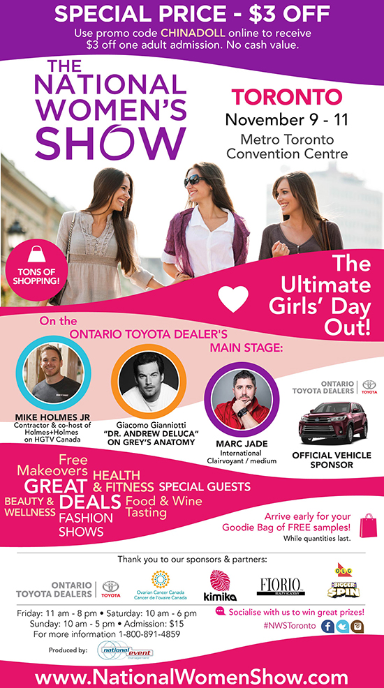Daily 2018 11 05 Win A Pair Of Tickets To The National Women Show In Toronto Hc Blog Redflagdeals Com Forums