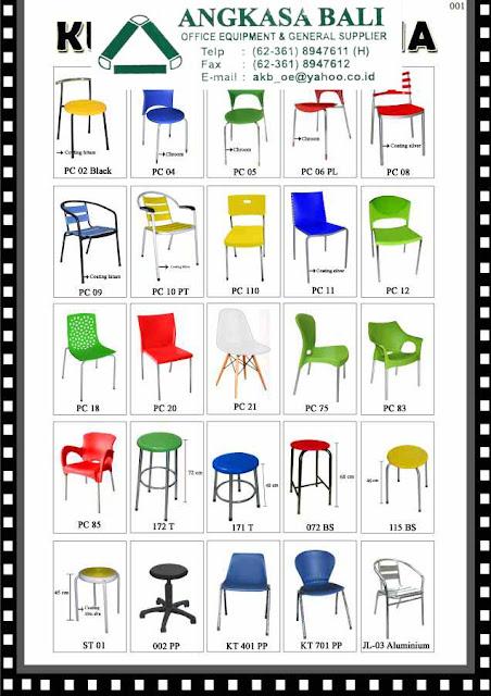 jual kursi makan kursi cafe plastik di bali