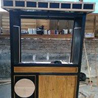 Jasa Pembuatan Rombong, Booth Counter,Gerobak, Stand di Malang