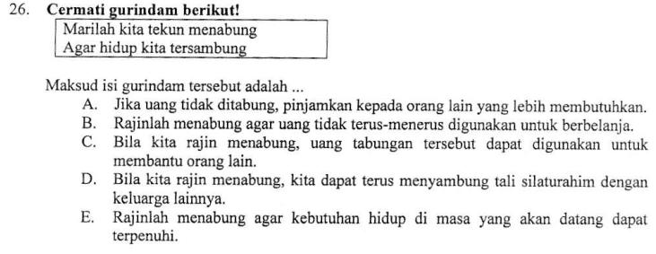Menentukan Maksud Isi Gurindam Zuhri Indonesia