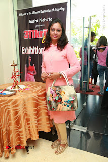 Bollywood Actress Sana Khan Launches Aakrithi Exibition  0224.JPG