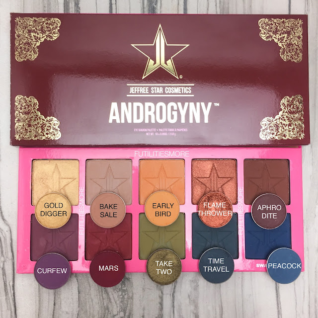JEFFREE STAR ANDROGYNY DUPES WITH MAKEUP GEEK EYESHADOWS, FUTILITIESMORE, FUTILITIESANDMORE, FUTILITIES AND MORE, DUPES, MAKEUP GEEK
