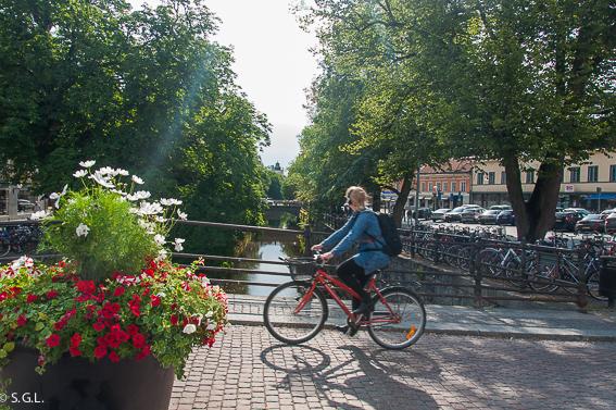 Visitando Suecia. Un dia en uppsala