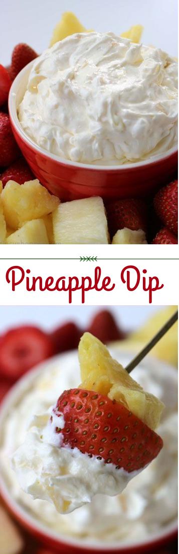 Pineapple Dip #dessert #simplerecipe