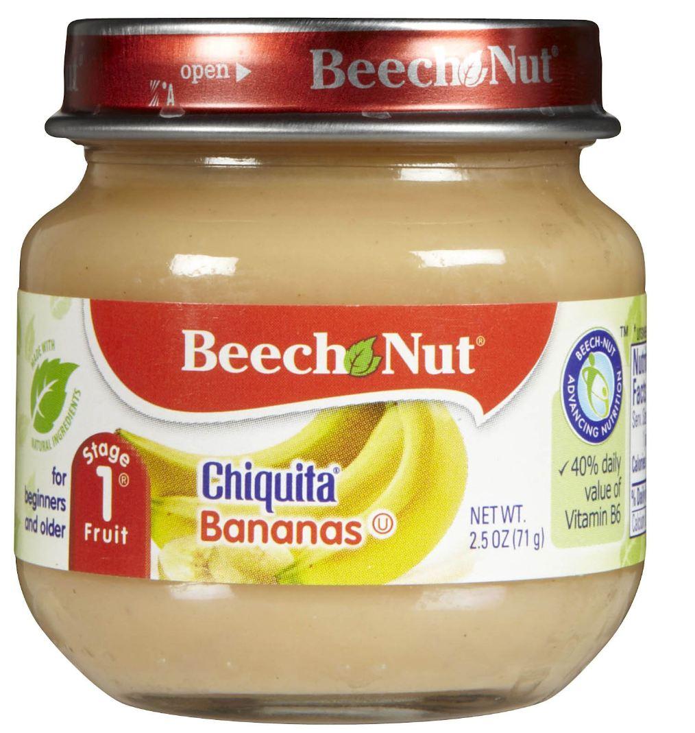 The Thrifty Deafies Walmart 17 Beech Nut Baby Food Jar