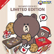 "Julie's ""LINE Brown's Cookies"" Limited Edition Gift Box & Bookmark"
