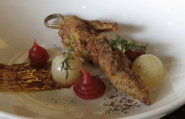 Morris Jones & Co, Windsor, fried quail
