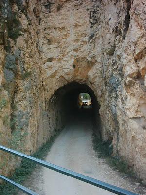 Pantano ,embalse, Pena ,Beceite ,frontera ,Valderrobres, túnel