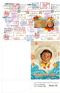 Moana Baby Free Printable Passport