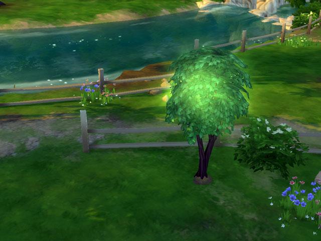 как скрещивать растения в симс 4,