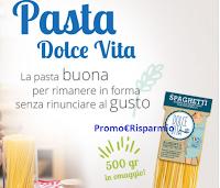 Logo Pasta Dolce Vita : richiedi una confezione omaggio da 500 gr