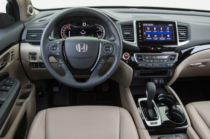 Honda Ridgeline 2017 - Photo Honda Ridgeline
