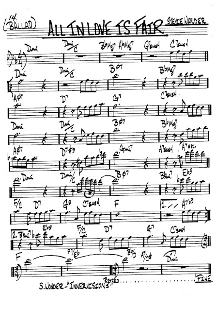 Partitura Violonchelo Steve Wonder