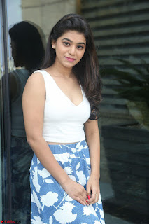 Yamini in Short Mini Skirt and Crop Sleeveless White Top 045.JPG