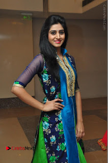 Actress Model Shamili Sounderajan Pos in Desginer Long Dress at Khwaaish Designer Exhibition Curtain Raiser  0020.JPG