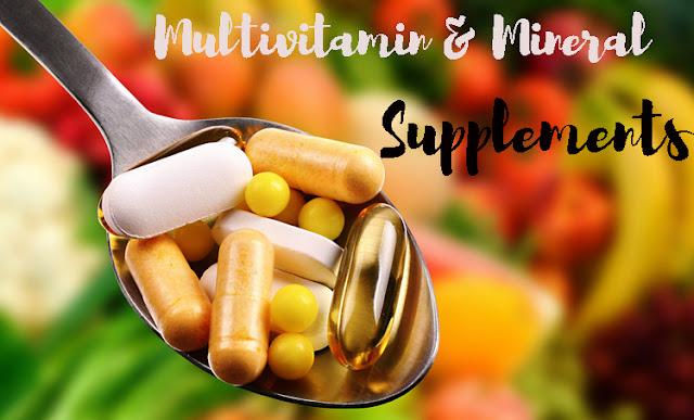 Про вітаміни, мінерали та біологічно активні добавки