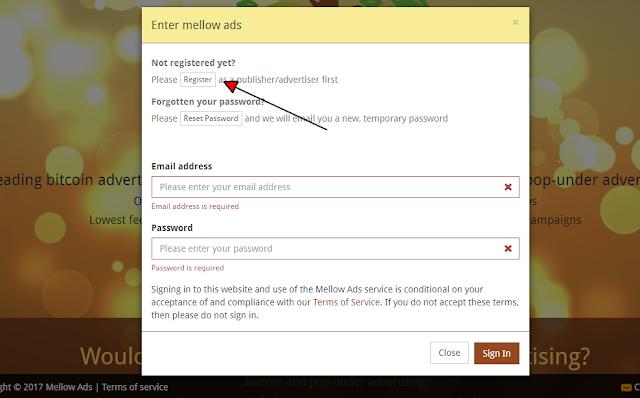 كيفية عمل اعلان مدفوع مجاني في موقع الاعلانات الشهير mellowads