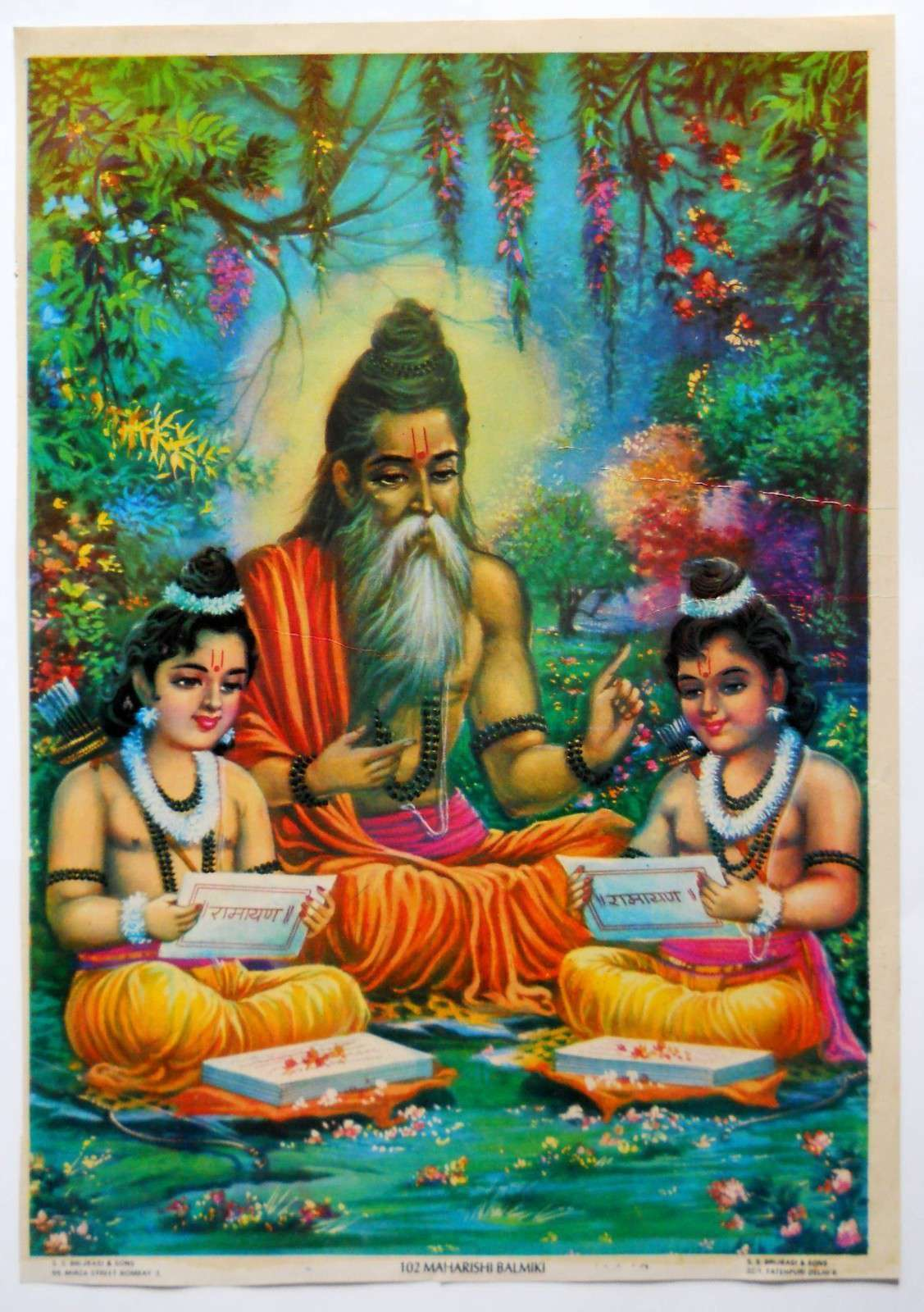 Valmiki Ramayanam in english: Index to contents