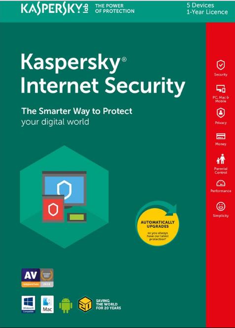 Kaspersky Internet Security 2018 free key ( serial Number )