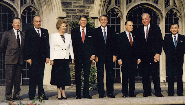 14th G7 summit,1988 in Toronto