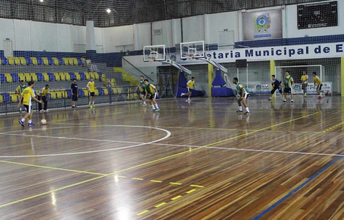 612720ecaeb36 Novo Futsal SJP  Após último treino no Ney Braga